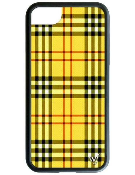 Yellow Plaid iPhone 6/7/8 Case Iphone phone cases
