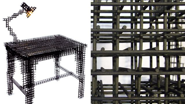 There's Something Incomplete About This Wireframe Desk [Wish You Were Here]