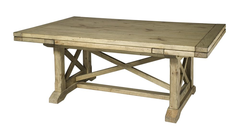 Refractory Trestle Table | 33-054T | Kincaid Furniture Tables from Furnitureland South