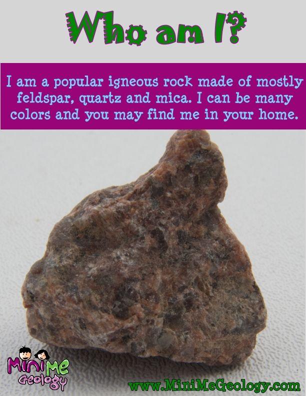 Red To Pink Granite Igneous Rock Mini Me Geology Igneous Rock Igneous Rock