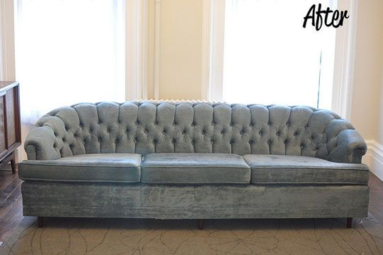 How To Remove A Sofa Skirt And Revitalize An Old Sofa! (I Just Bought A  Small Love Seat That Iu0027m Doing This To Right Now!)