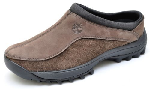 Timberland CANARD Brown Clogs Slip Ons Mules Shoes Men's - NEW - 86150