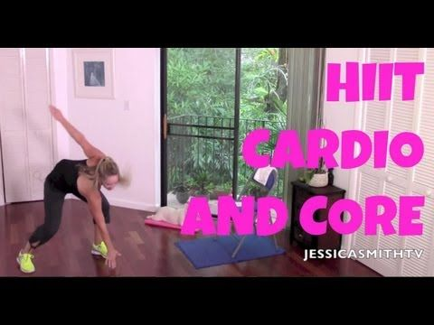 Video Workout: 30 Minute HIIT Cardio and Core Workout