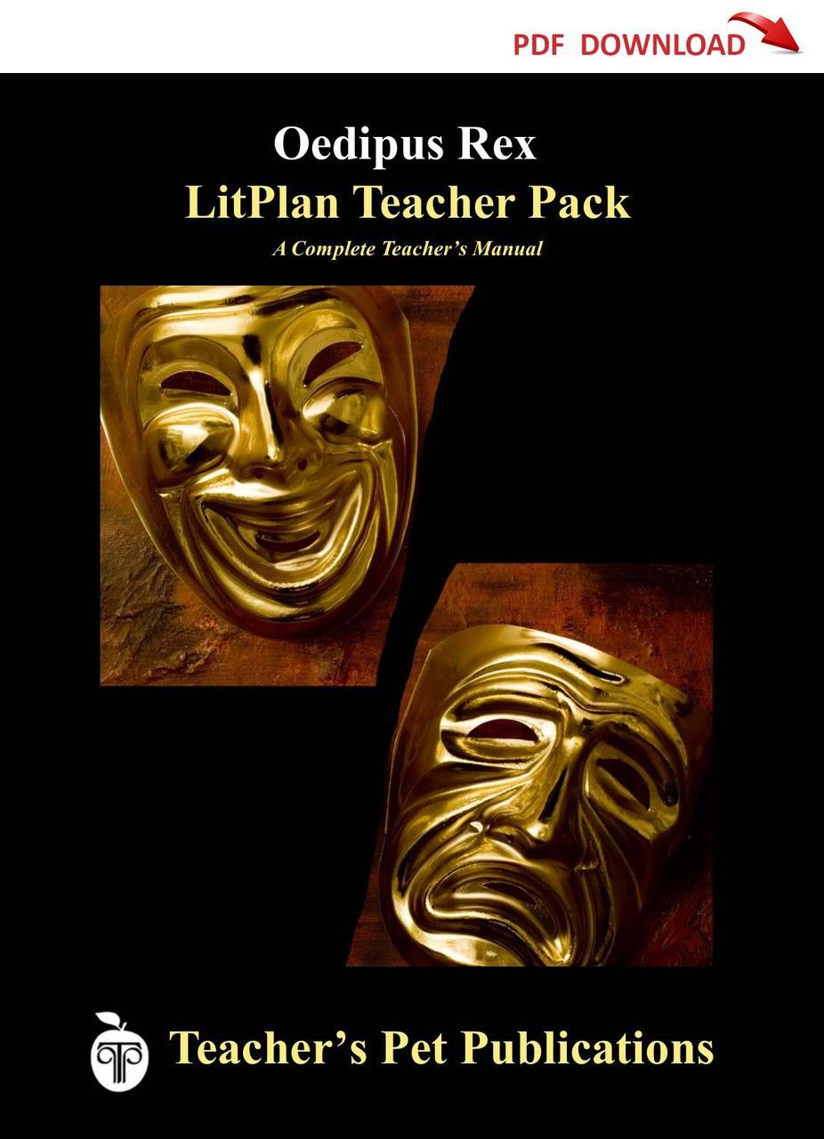 Oedipus Rex Lesson Plans | LitPlan Teacher Guide