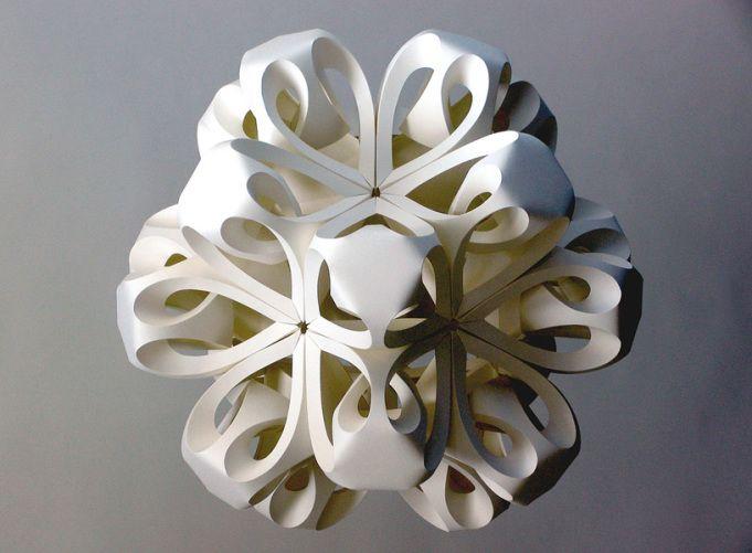 снежинка оригами, фото 3
