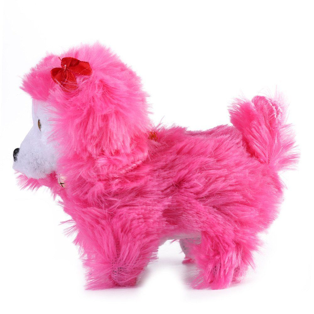 Roxie Battery Operated Plush Puppy Toy Dog Walking Barking Tail