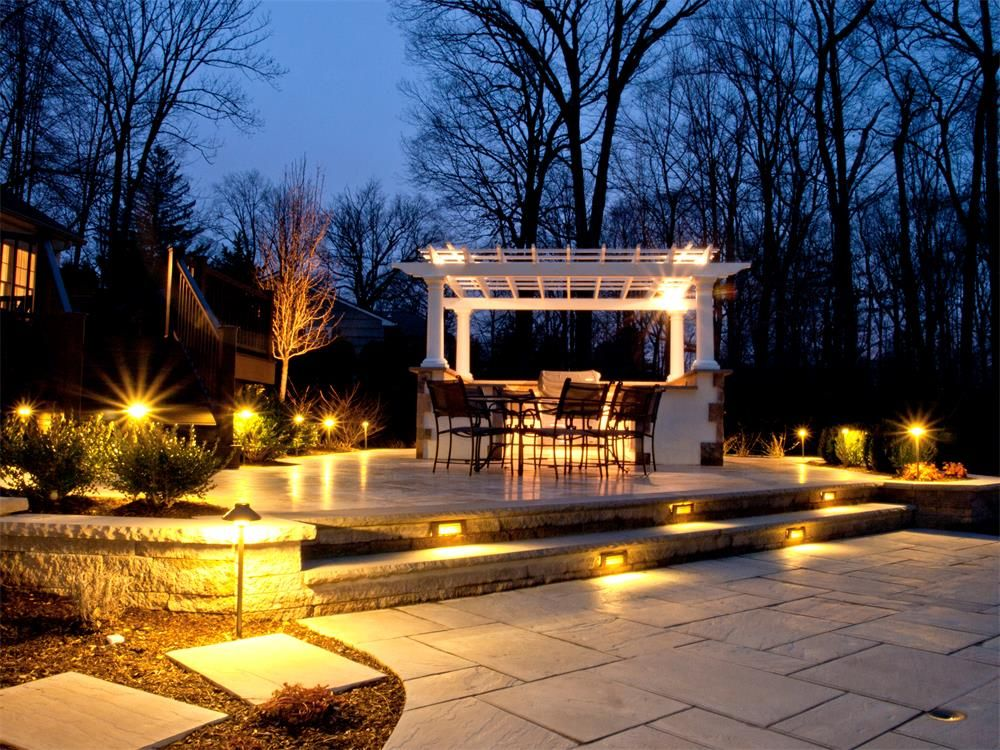 Beautiful Outdoor Lighting: Lighting your landscape is half necessity and the other half accessory. The  proper lighting can really up the oomph factor on a great landscape.,Lighting