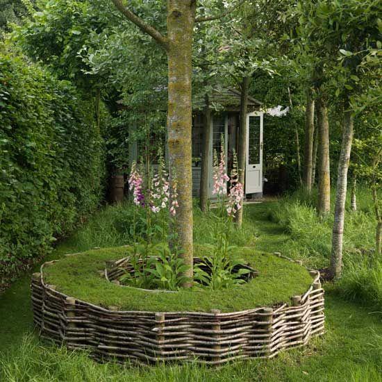 bordure osier tress treillis de jardin pinterest. Black Bedroom Furniture Sets. Home Design Ideas