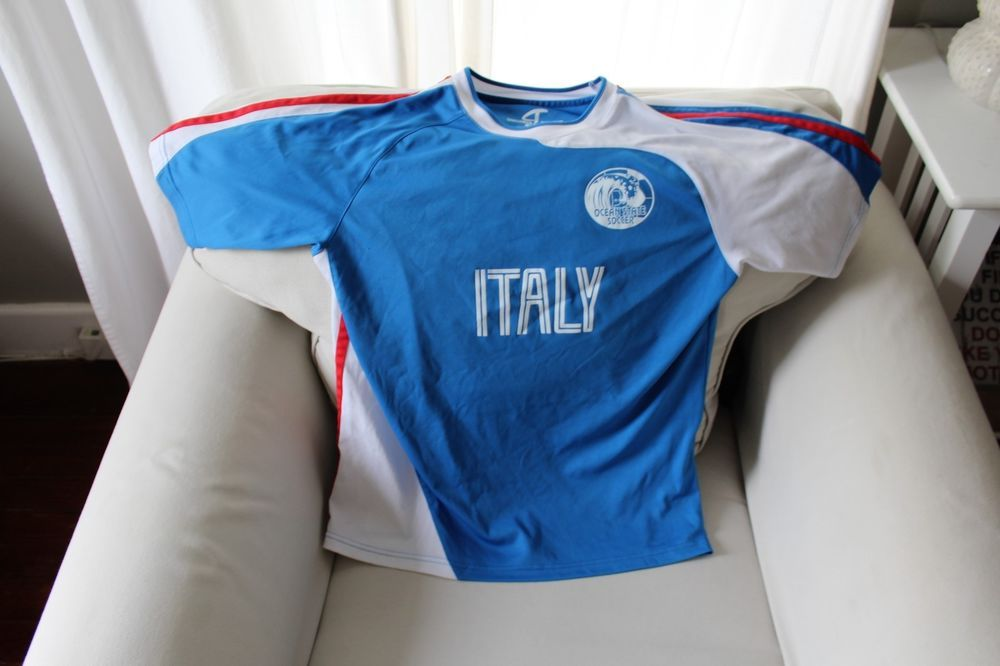 ITALY OCEAN STATE SOCCER RI JERSEY SIZE S/M #CHALLENGERTEAMWEAR #ITALY