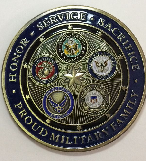 Challenge Coin 10th Air Force Command Chief Master