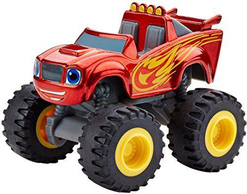 Fisher Price Nickelodeon Blaze The Monster Machines Metallic Blaze Vehicle Most Wanted Christmas Toys Blaze The Monster Machine Monster Trucks Fisher Price