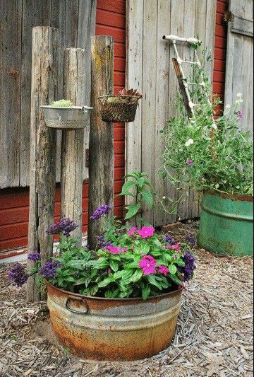 Pin By Peggy Willetts On Garden Art Metal Works Rustic Garden