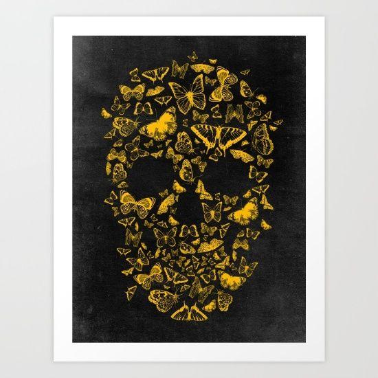 Skull Butterfly 2
