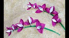 Photo of Einfache Origami-Orchidee! DIY Osterdekorationen aus Papier.