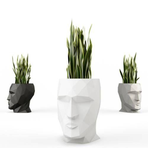 Homeform Wohndesign: ADAN Beleuchteter Blumentopf Klein Für ESL Beleuchtung