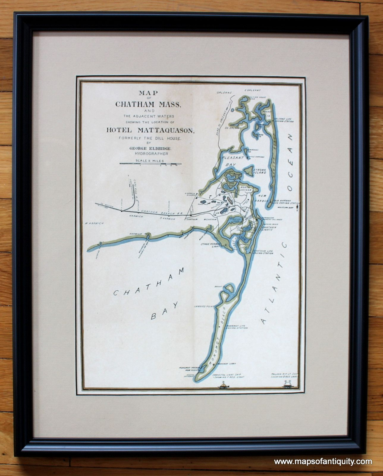 Reproduction Of Antique Birds Eye Veiw Map Of Chatham Ma Maps Of Chatham Ma Pinterest Antique Maps Chatham Cape Cod And Cape Cod Massachusetts