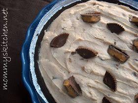 Mommy's Kitchen: Creamy No Bake Peanut Butter Pie.