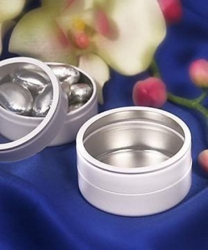 12 round clear top wedding favours tins wedding ideas pinterest