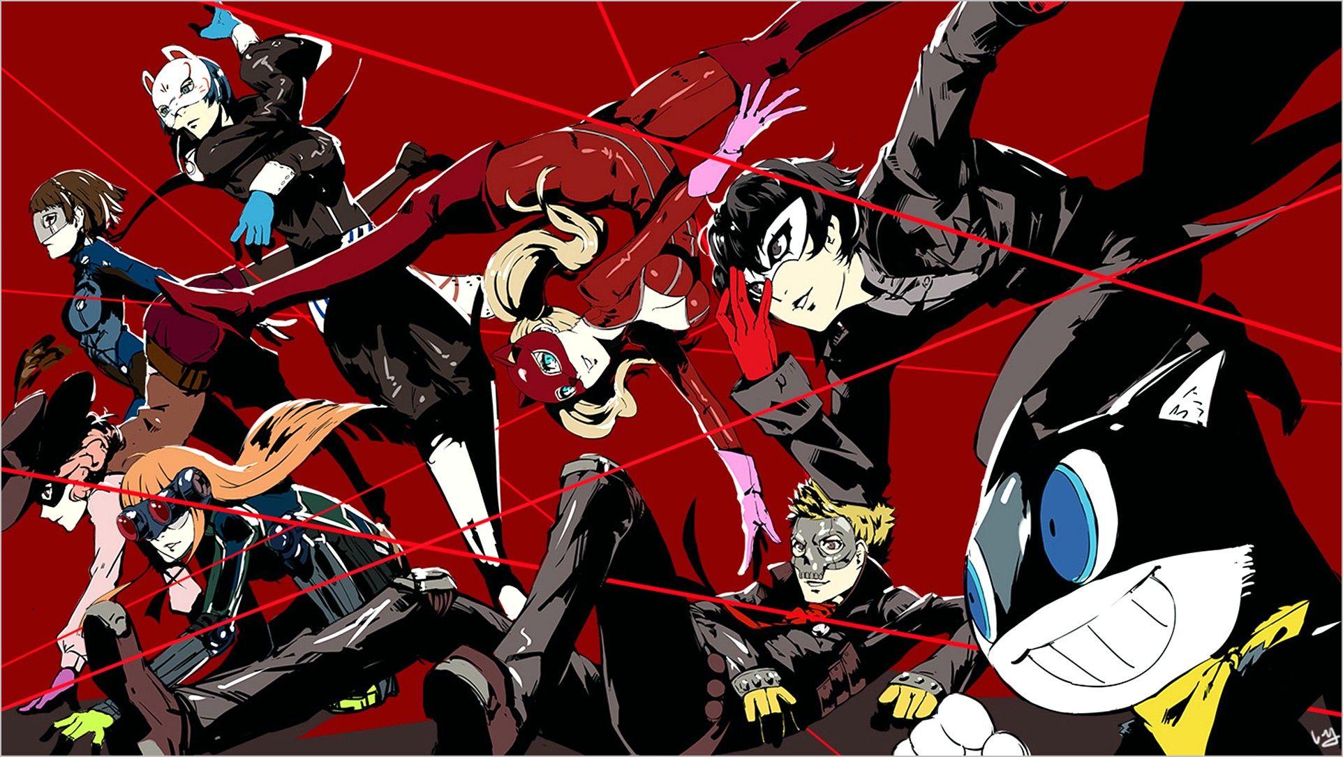 Ann Persona 5 Wallpaper 4k In 2020 Persona 5 Persona 5 Joker Persona