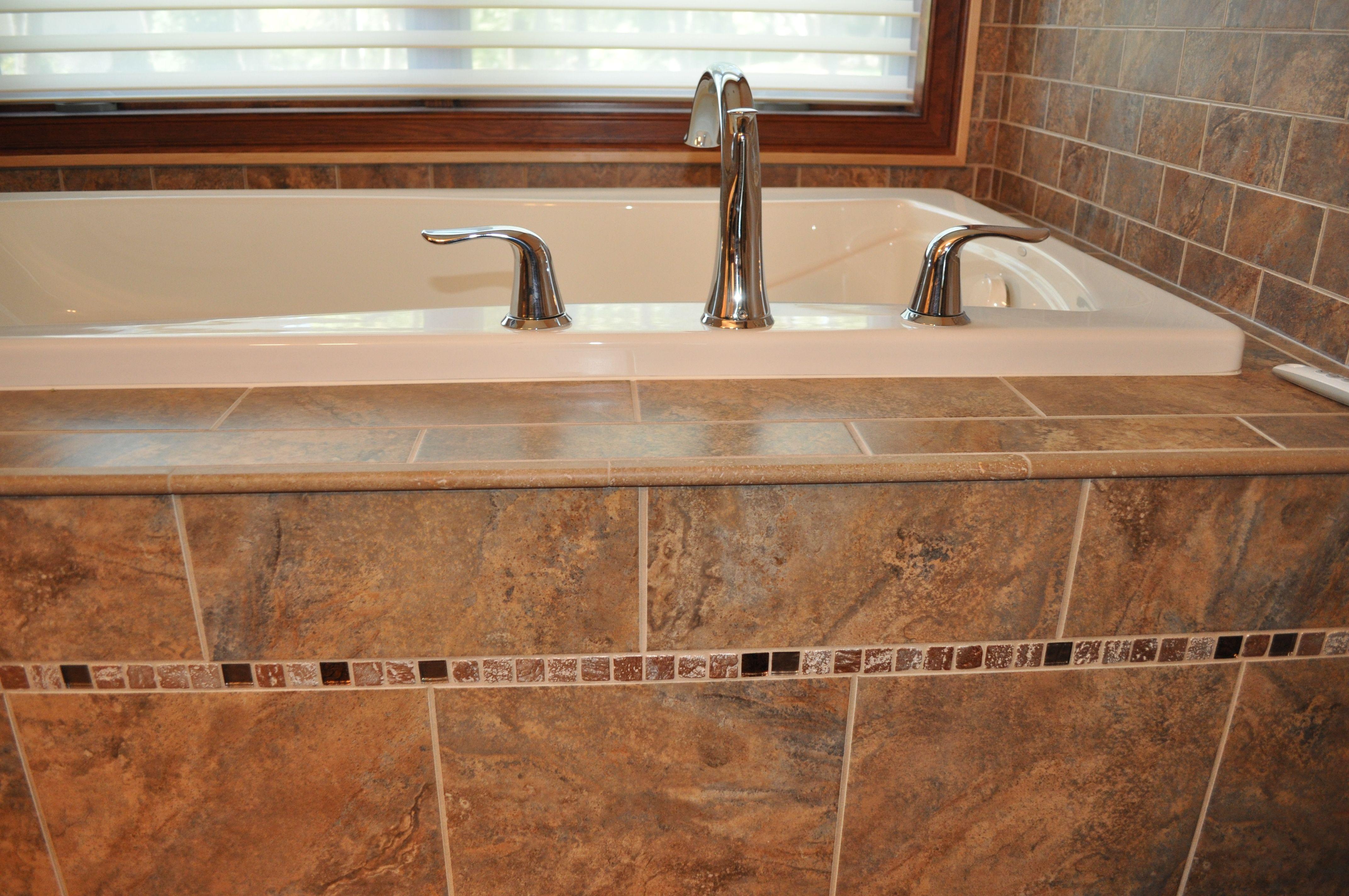 Bath tile design by Autumn Whittle of Nonn\'s Design Showplace ...