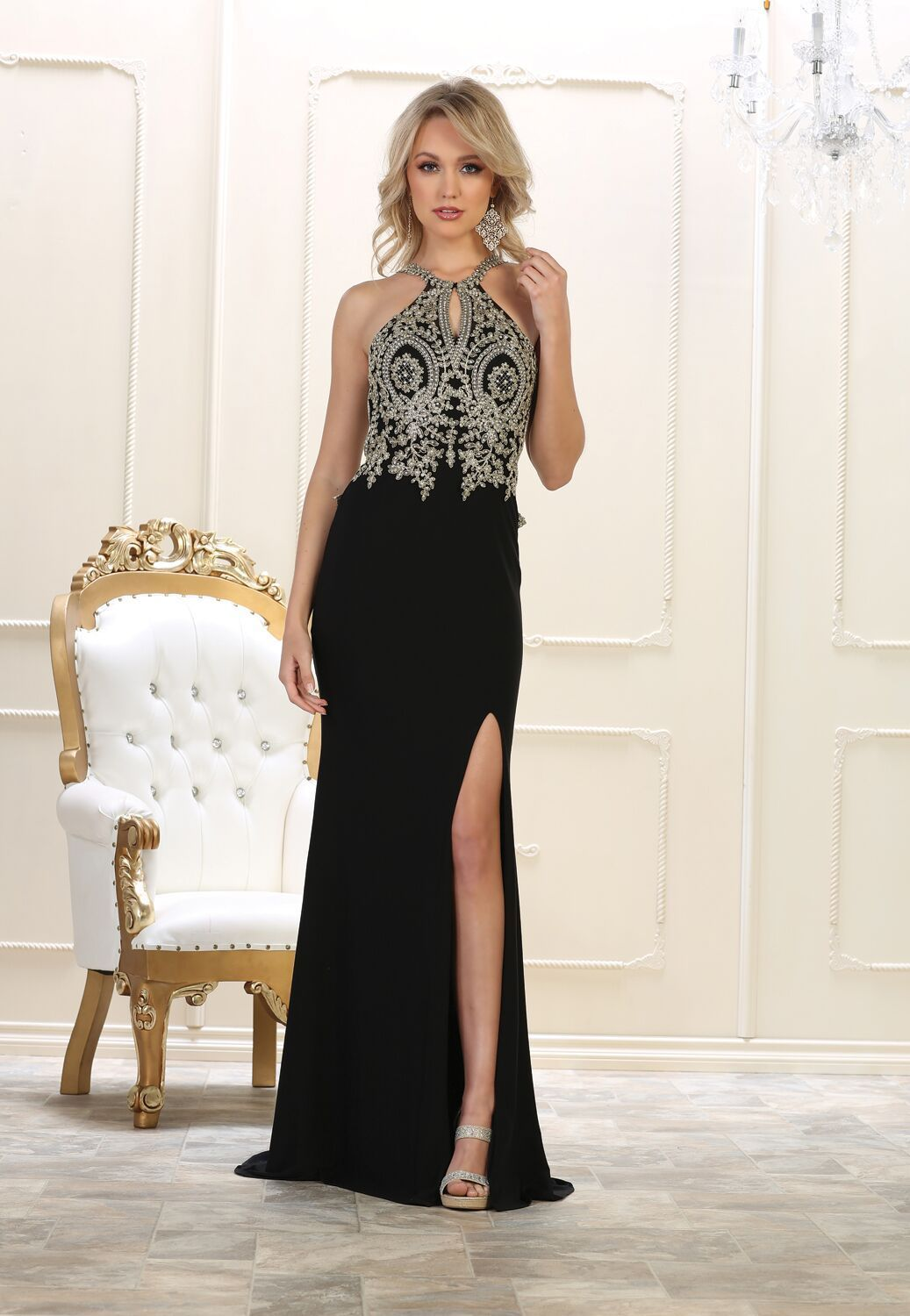 Prom long dress formal back evening gown products pinterest