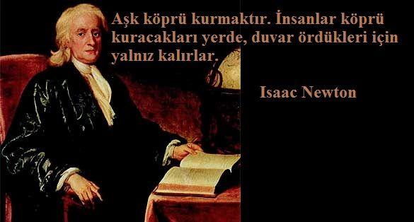 """Klasik mekaniğin temelini oluşturan  """"Philosophiæ Naturalis Principia Mathematica"""" isimli kitabın yazarı Newton'dan."""