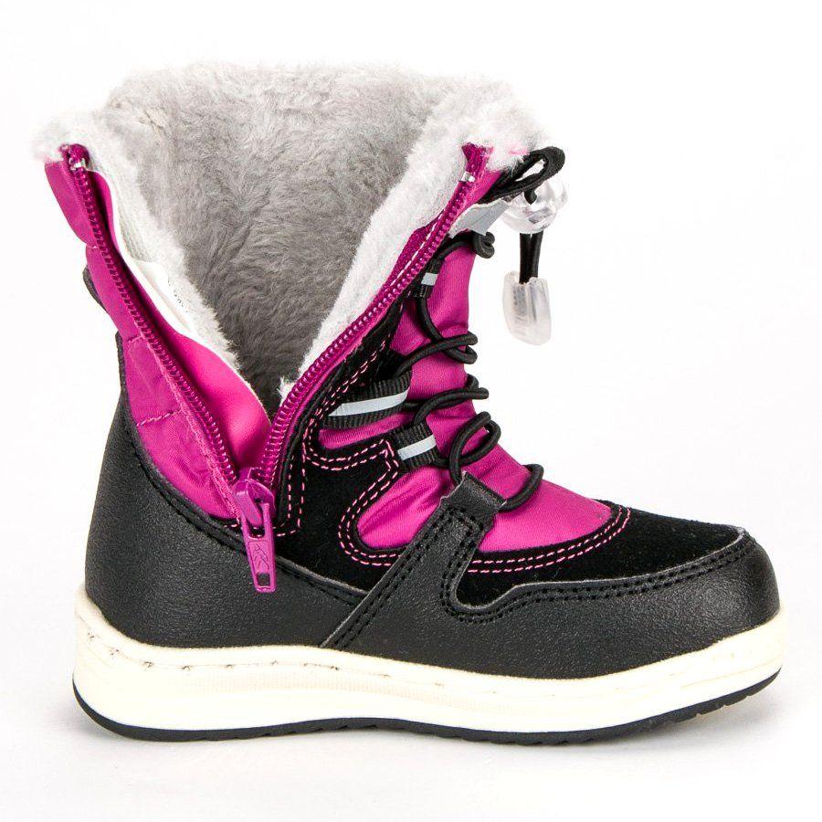 Kozaki Dla Dzieci Arrigobello Arrigo Bello Rozowe Ocieplane Sniegowce Boots Wedge Sneaker Winter Boot