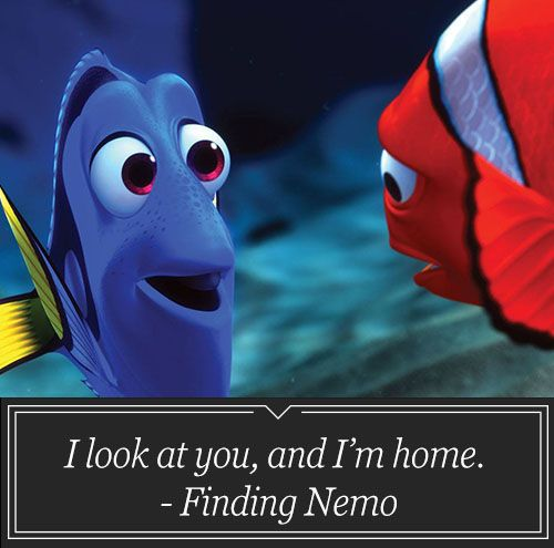 Saying 'You're my Nemo' Word Quote Famous Quotes
