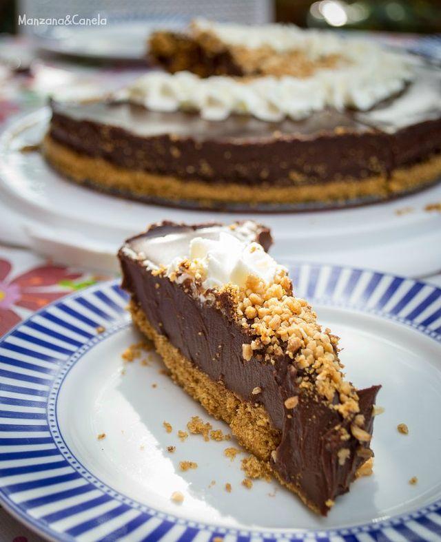 Tarta de chocolate (sin horno) | Manzana&Canela | Bloglovin'