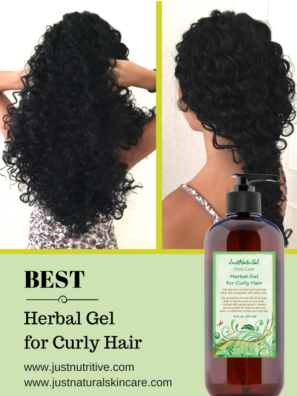 No Alcohol Or Other Follicle Clogging Chemicals That Ends Up On Your Scalp As Residue Gentle Non Irritating Formu Curly Hair Styles Herbal Gel Gel Curly Hair