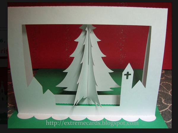 Roundup 9 Folded Paper Christmas Tree Christmas Card Tutorials Christmas Card Tutorials Pop Up Christmas Cards Christmas Tree Cards