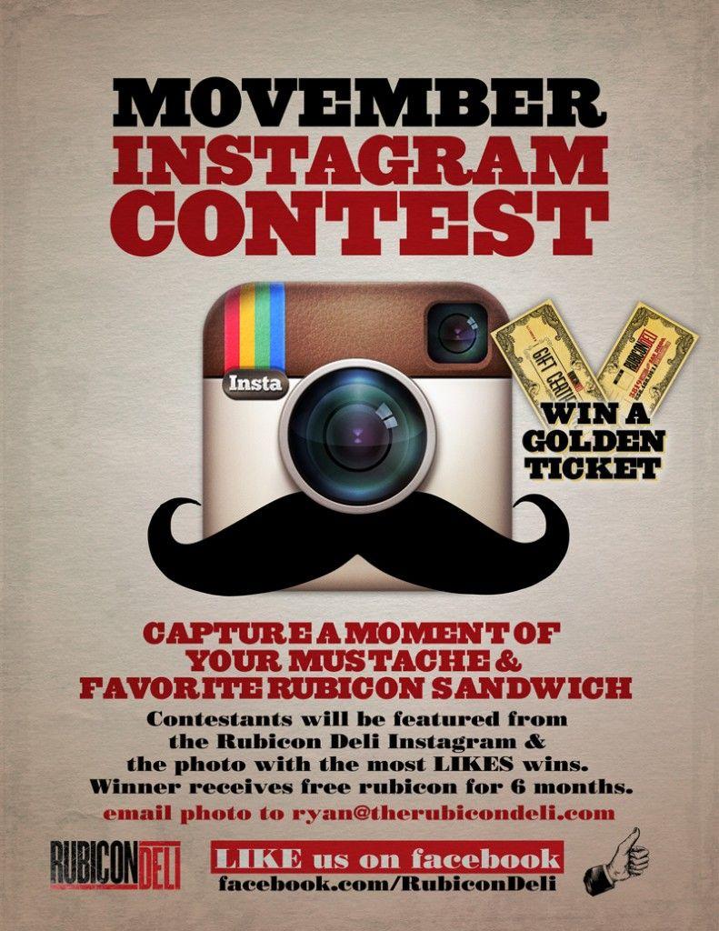 Movember Social Media Ideas 2019 Movember instagram contest   Love this! Let Go City Social create