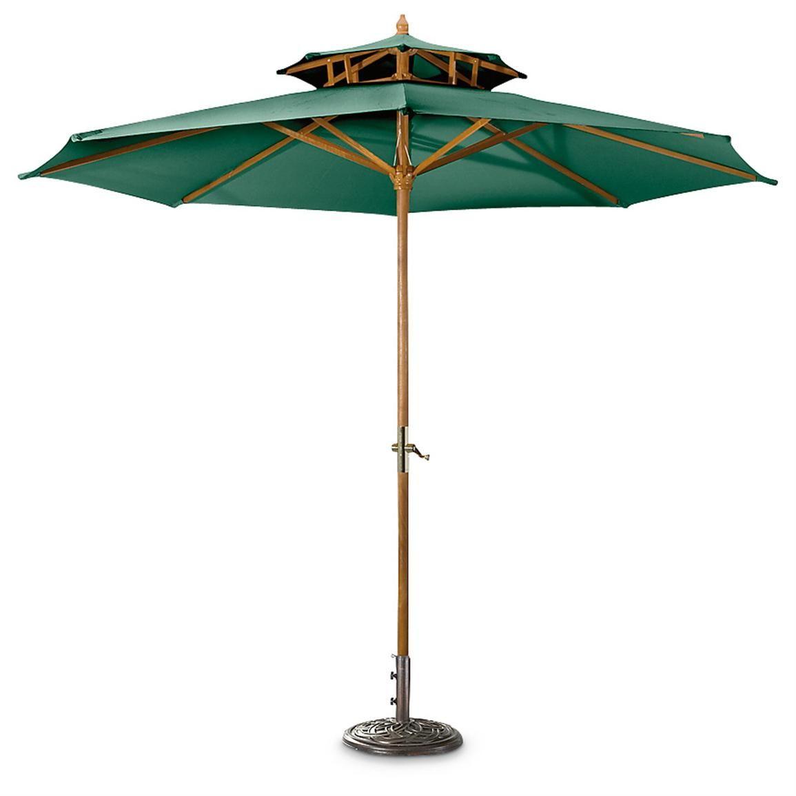 Castlecreek 10 Ft Market Umbrella Hunter Green 60 Market Umbrella Patio Umbrella Patio What is a market umbrella