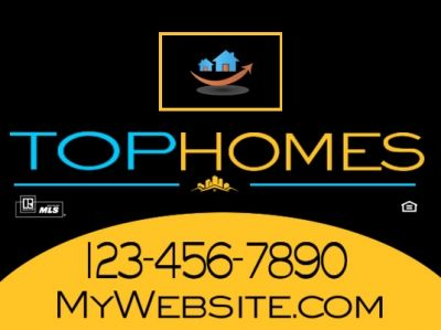 custom sign center has not forgotten about our indpendent realtors we have several brand new templates from which to choose get started now