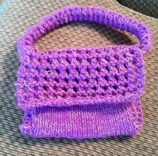 Small Knit Purse Free Pattern Knit Patterns Free Pattern And Patterns