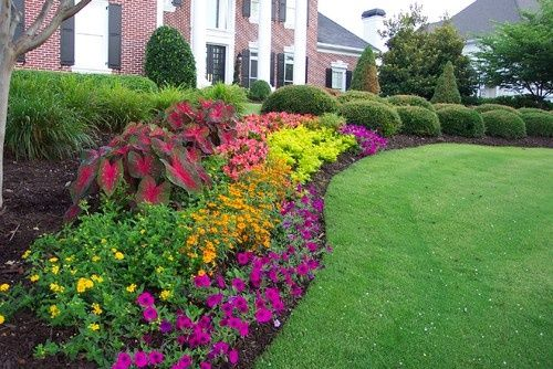 Flower Bed Ideas Front Of House Ideasdecoracioninteriores 33