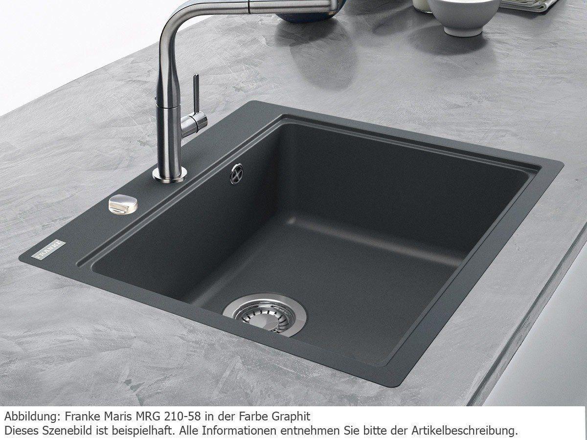 Franke Maris MRG 210-58 Onyx Granitspüle Küchenspüle Schwarz ...