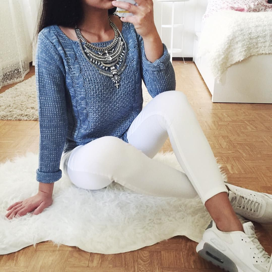 THANYA W. on Instagram u201cSweater @allydress u201d | Accessories | Pinterest | Instagram Chic ...