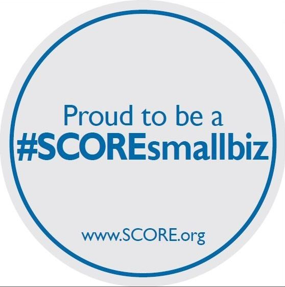 "Show your #smallbiz pride by sharing photos of the ""Proud to be a #SCOREsmallbiz"" decal at your business during National Small Business Week! (May 12-16) All week long, we'll be sharing your decal photos with our 40,000+ social media followers. Contact your local SCORE chapter to get yours!"