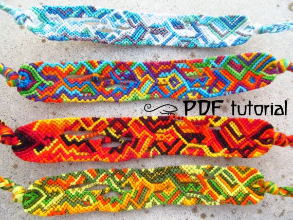 Friendship Bracelet Pattern, Friendship Bracelet Tutorial ...