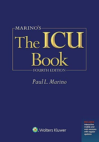 Marino's The ICU Book, 4E | Books | Medical textbooks, Books