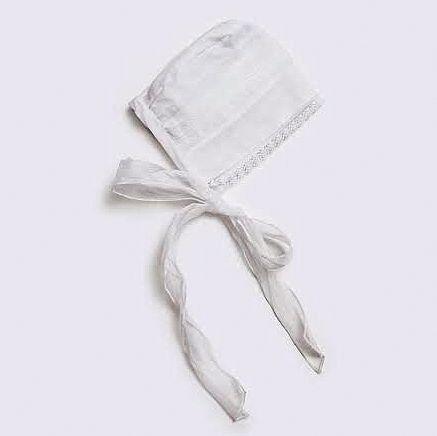 Baptism hood-Christening Bonnet Baptism by letsdecorateonline