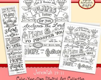 Christmas Color Your Own Bookmarks Bible Journaling Tags Tracers INSTANT DOWNLOAD Scripture Digital Printable Christian Religious