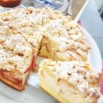 Oldie but Goldie: Das Karamell-Apfel-Käsekuchenrezept aus der Lecker Bakery. Immer eine Sünde wert!
