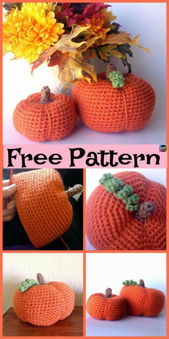 10 Adorable Crochet Pumpkins Free Patterns Animals And Toys To