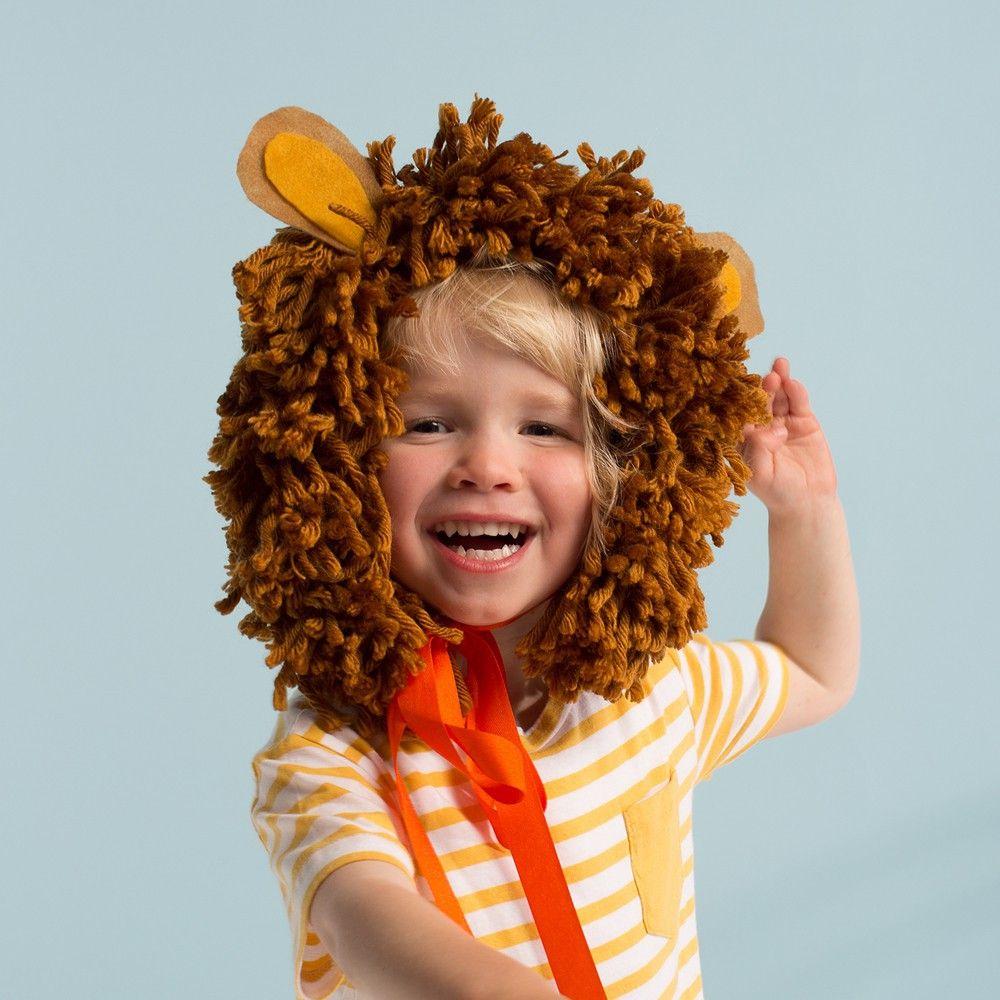 Meri Meri Disfraz cabeza de león-product ccdcaa32075