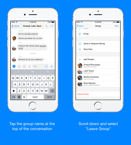 Install Facebook Messenger Lite on iPhone (iOS).