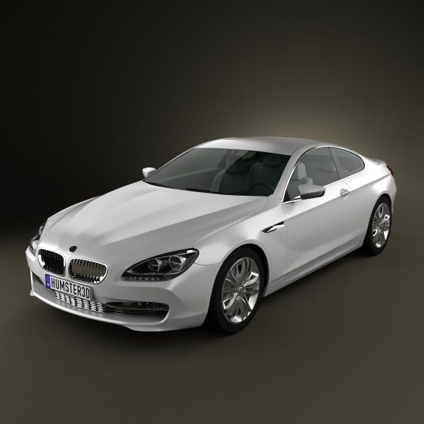 Wonderful Model Of BMW 6 Series Coupe Concept
