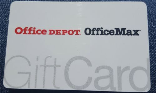Coupons #GiftCards OFFICE DEPOT/OFFICEMAX MERCHANDISE CARD/GIFT CARD