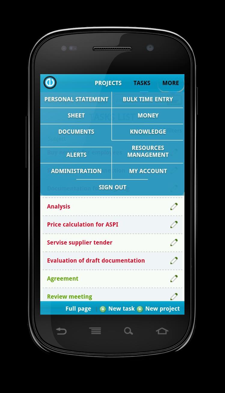 Pin uživatele Easy Redmine na nástěnce Redmine Mobile